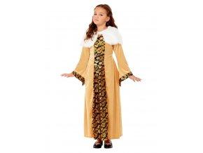Dětský kostým středověká hraběnka