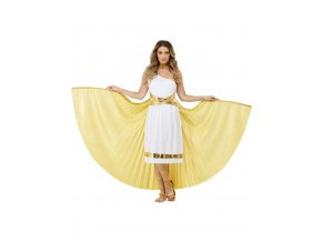 Deluxe řecká pelerína s křídly