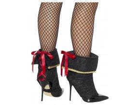 Pirátské návleky na boty Dámské
