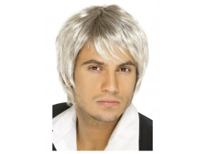 Paruka Boy Band Blond-hnědá