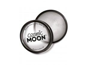 Metalický makeup Stříbrný