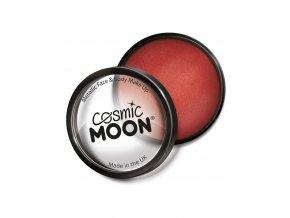 Metalický makeup Červený