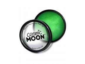 Metalický makeup Zelený