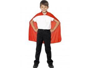 Dětský plášť červený