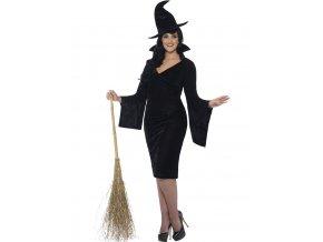 Kostým Čarodějnice Plus size