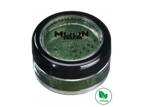 Halloween makeup glitry Zombie zelené