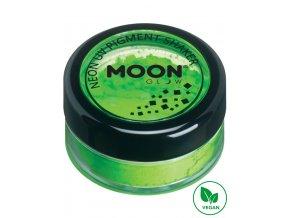 UV NEON pigmentový prášek Zelený