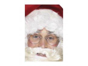 Stříbrné brýle Santa