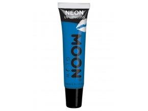 UV NEON ovocný lesk na rty Modrý (Žvýkačka)