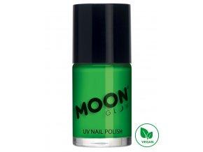 UV NEON lak na nehty Zelený