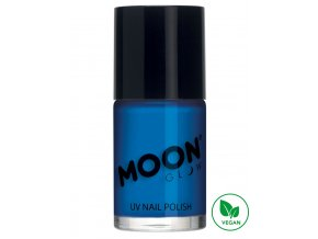 UV NEON lak na nehty Modrý