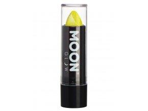 UV NEON glitrová rtěnka Žlutá