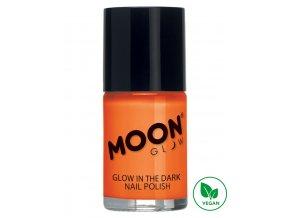 Fosforující UV lak na nehty Oranžový