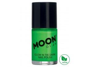 Fosforující UV lak na nehty Zelený