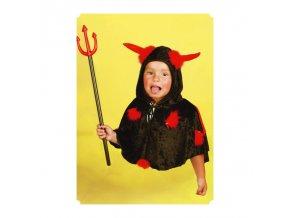Dětský kostým Čertík (pelerína)