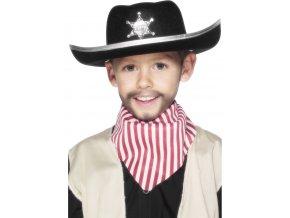 Dětský kovbojský klobouk Šerif