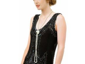 Perlový náhrdelník dlouhý 30.léta