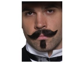 Deluxe Western knír Gambler