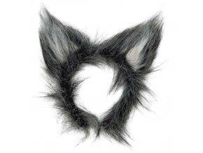 Čelenka uši Vlk