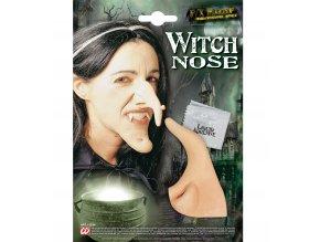 Profesionální čarodějnický nos s lepidlem