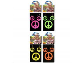Hippies náušnice s náhrdelníkem