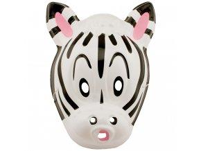 Dětská zvířecí maska Zebra