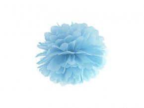Pompom modrý, 25cm