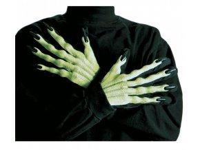 Zelené 3D ruce
