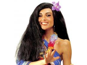 Paruka Havajanka s květinou