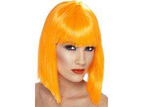 Dámská paruka Mikádo oranžová