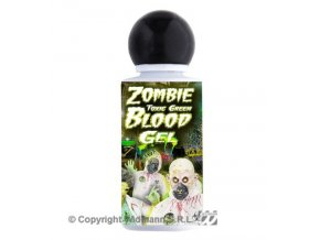 Zombie toxická krev zelená