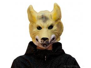 Plastová maska Vlk