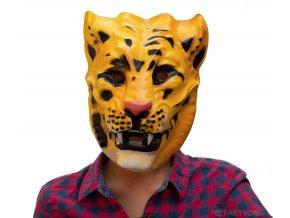Plastová maska tygr