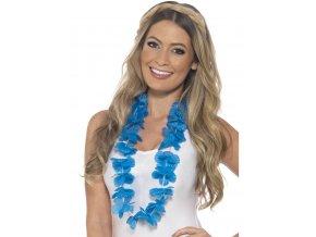 Havajský věnec modrý zářivý