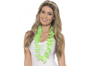 Havajský věnec zelený zářivý