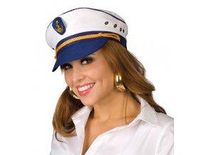 Kapitánská námořní čepice unisex