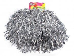Pompony pro roztleskávačky stříbrné 2x50g