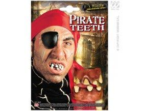 Gumové zuby Pirát