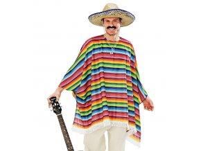 Set Mexické pončo a sombrero