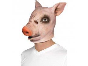 Latexová maska Prase