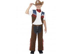 Dětský kostým kovboj Western