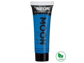 UV NEON barva na tělo a obličej Modrá