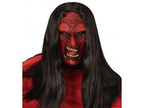 Čertovská maska ďábel
