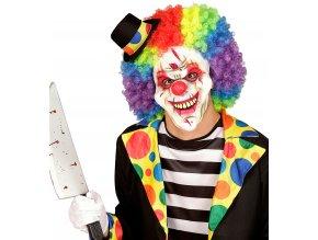 Maska halloweenský klaun