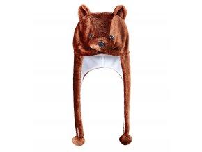 Zvířecí čepice Medvěd