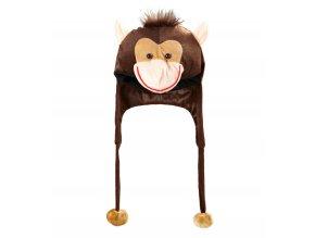 Zvířecí čepice Opice