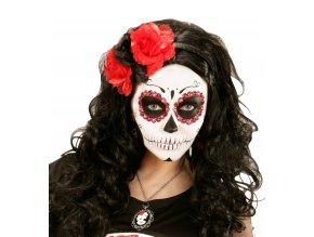 Čelenka s růžemi Sugar Skull