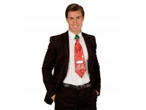 Vánoční kravata červená Xmas