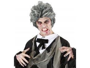 Pánská paruka Zombie šedá