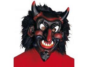 Maska Pohádkový čert černý